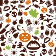 Halloween seamless pattern — Stock Vector #52347419