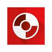 Rescue circle icon — Stock Vector