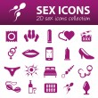 Sex icons — Stock Vector #56479577