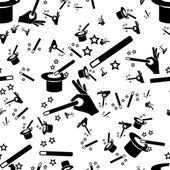 Magic seamless pattern — Stock Vector