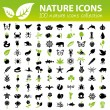 Nature icons collection — Stock Vector #61518667