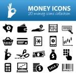 Money icons — Stock Vector #61518695