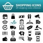 Shopping icons — Stock Vector #61518721