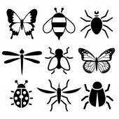 Insect collection — Stock Vector