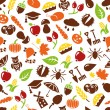 Autumn seamless pattern — Stock Vector #62562269