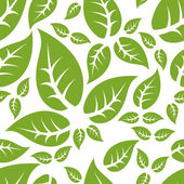 Leaf seamless pattern — Stock Vector