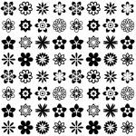 Flower seamless pattern — Stock Vector #63816561