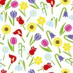 Flower seamless pattern — Stock Vector #66226405
