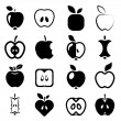 Apple icons — Stock Vector #67491981