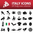 Italy icons — Stock Vector #70181151