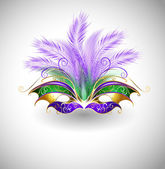Mardi Gras mask — Stock Vector