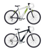Mountain bike. Sport becycle — Stockvektor