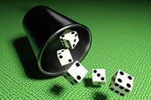 Some dices — Stock Photo