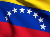 Venezuela flag — Stock Photo