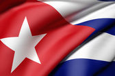 Cuba flag — Stock Photo