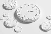 3D klokken — Stockfoto