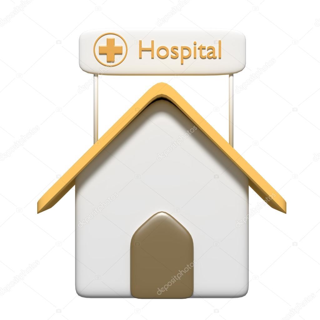 Hospital del dibujo animado — Foto de Stock #79232474 ...