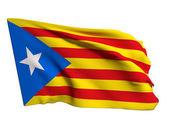 Catalonia flag — Stock Photo