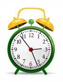 Saati vektör çizim — Stok Vektör