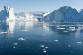 Arctic landscape in Greenland — Stock Photo