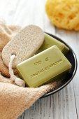 Greek olive soap — Zdjęcie stockowe