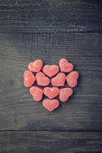 Candy heart — Stock Photo