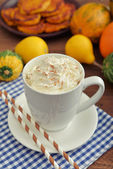 Pumpkin spice latter — Stock Photo