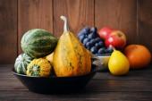 Fresh pumpkins — Стоковое фото