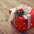 Red gift box — Stock Photo #60685163