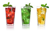 Red berry drink — Stock Photo