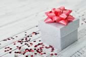 Pudełko na prezent — Zdjęcie stockowe