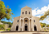 Roman Catholic cathedral of the immaculate conception, Victoria, — Stock Photo