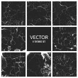 Cracked paint vector texture. Grunge background — Stock Vector #80811352