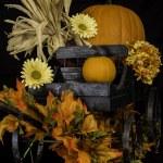 Autumn Wagon — Stock Photo #53761989