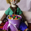 Clown Doll — Stock Photo #68860115