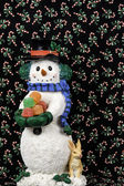 Snowman figurine — Stock Photo