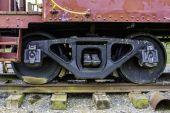 Поезда колеса — Стоковое фото