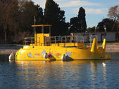 Yellow submarine — Stock Photo