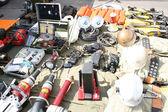 Fire rescue equipment — Stock Photo