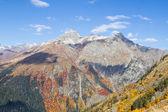 Peyzaj dağlar kafkasya'da rusya — Stok fotoğraf