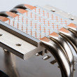 Aluminum cpu cooler — Stock Photo #69541297