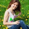 Girl in meadow — Stock Photo #70792765