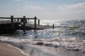 Old pier — Stock Photo
