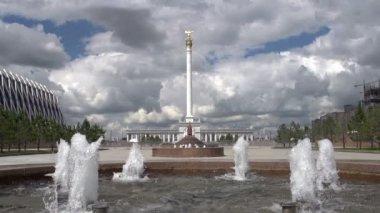 Stella in Astana — Stock Video