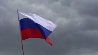 Flag of Russia — Stock Video