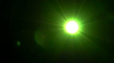 Strange Flickering Light. — Stock Video