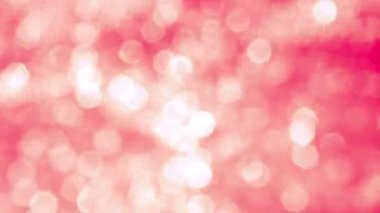 Blurred Pink  Sparkles — Stock Video