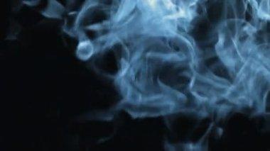 Heavy blue Smoke. — Video Stock