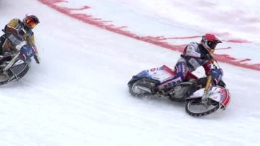 Speedway World Championship in Almaty — Stock Video