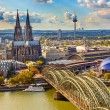 Aerial view of Cologne — Stock Photo #53338037